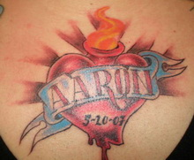of a Name tattoo at all,