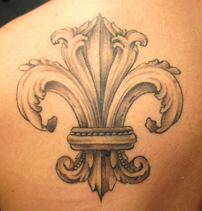 fleur de lis tattoo designs tattoo pictures online. Black Bedroom Furniture Sets. Home Design Ideas