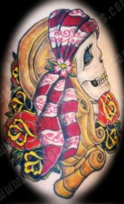 tattoo gallery > clown tattoos