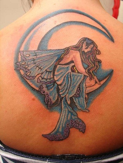 If you want to have a kind of faerie tattoo that is simple in design,